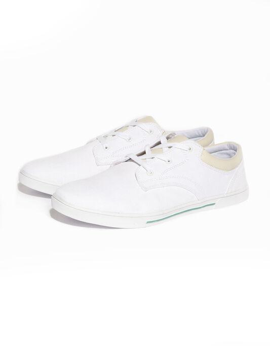 Paire de baskets blanches