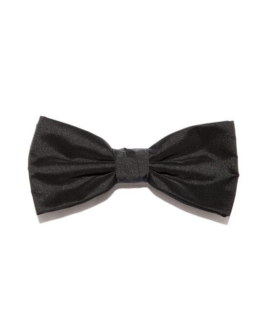Nœud-Papillon uni polyester noir