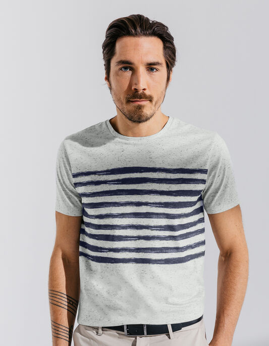Tee shirt Homme neps printé