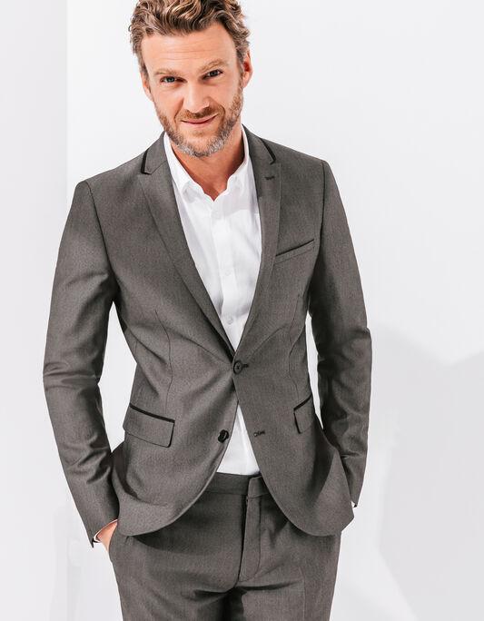 Veste de costume grise