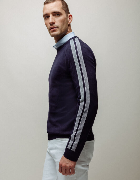 PULL COL ROND SPORT