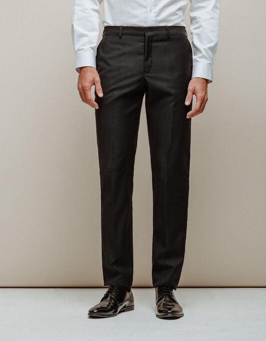 Pantalon costume homme laine italienne