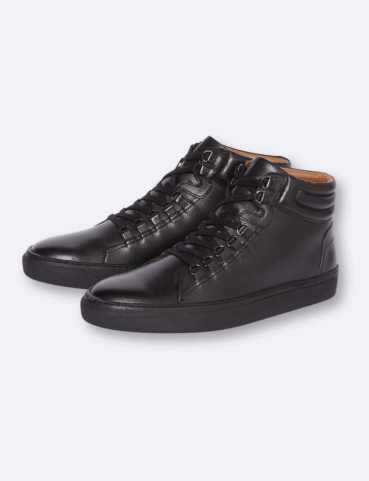 Chaussures montantes homme à lacets