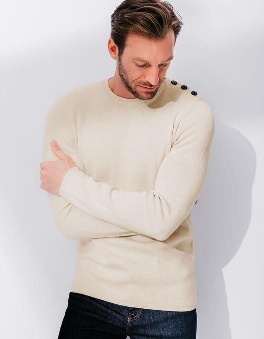 PULL COL ROND MARINIERE