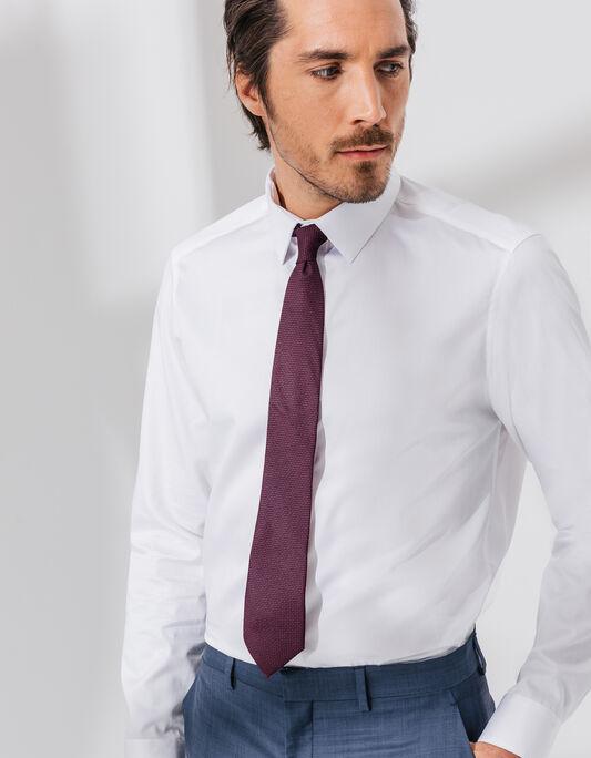 Cravate 7,5cm polyester  imprimé