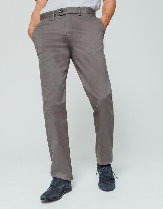Pantalon chino homme coupe regular