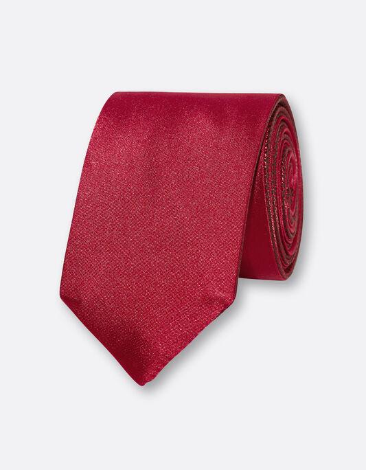 Cravate homme fantaisie biface polyester