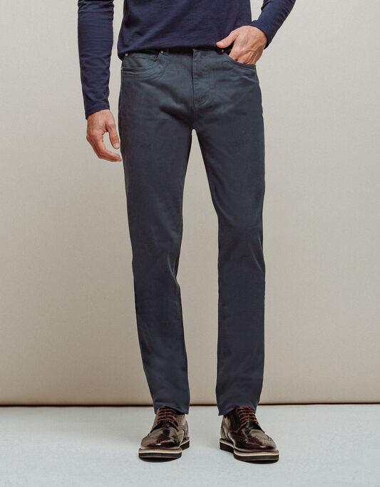 Pantalon homme slack slim 5 poches