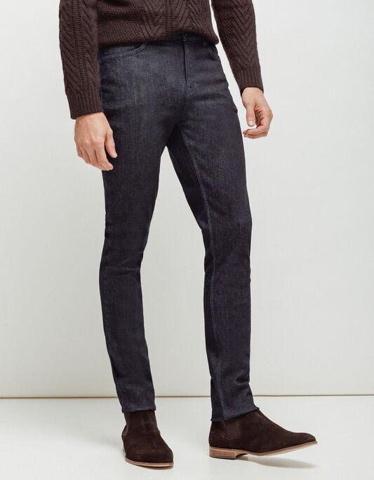 Jeans homme slim zippé