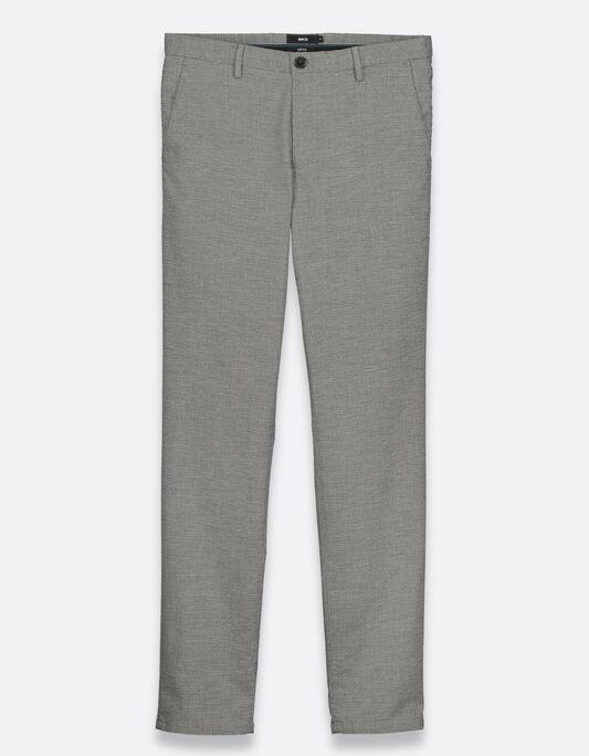 Pantalon motif pied de puce