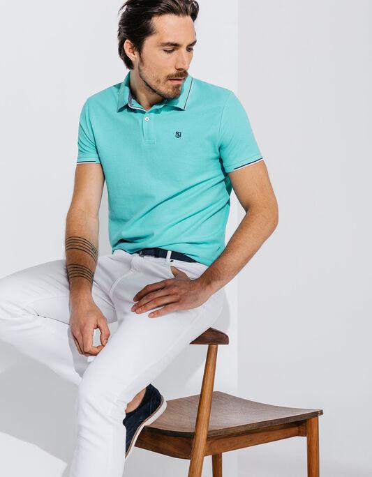 Polo homme manche courte