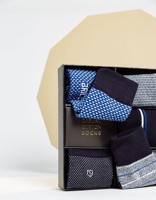 Coffret chaussettes homme
