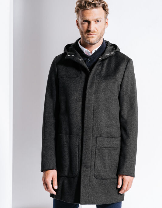 Manteau homme lainage