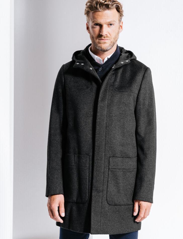 Manteau homme lainage
