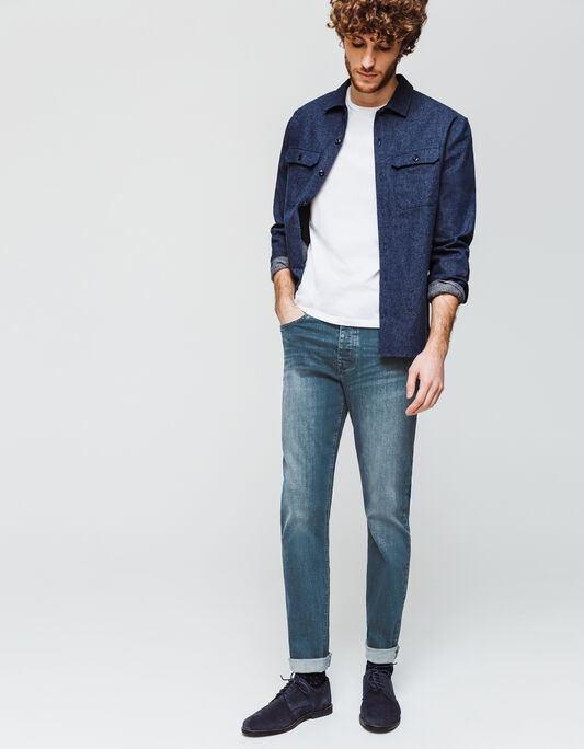 Jeans stone clair green