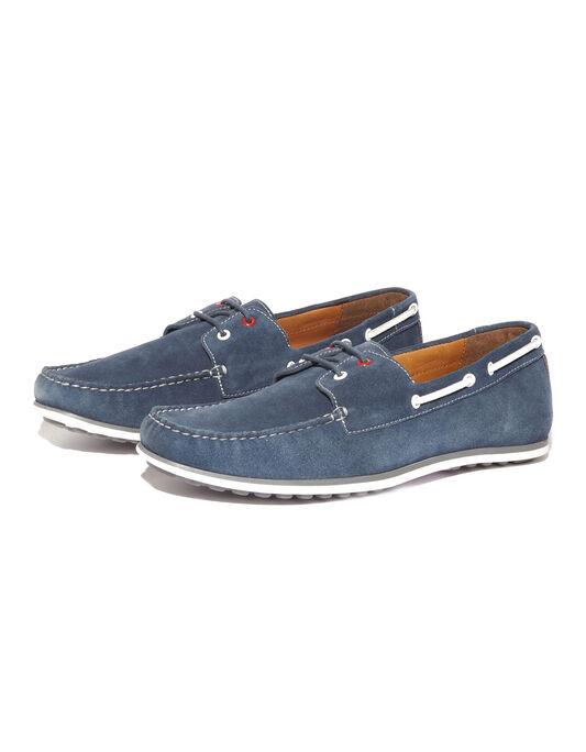 Chaussures bateau tricolores