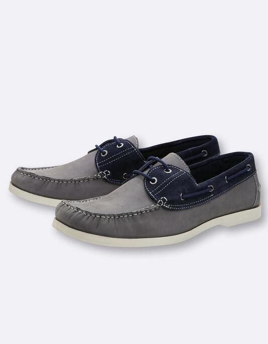 Chaussures homme bateau Cuir