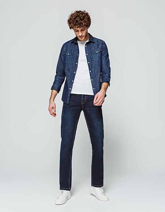 Jeans homme regular stone
