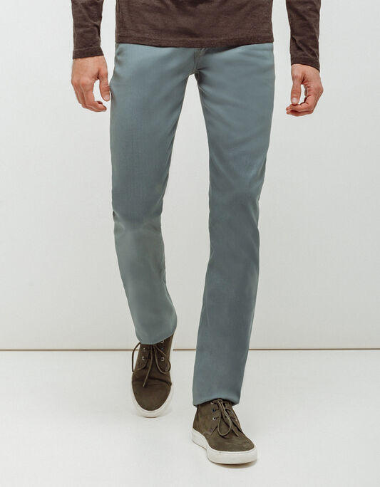 Jeans homme regular gris