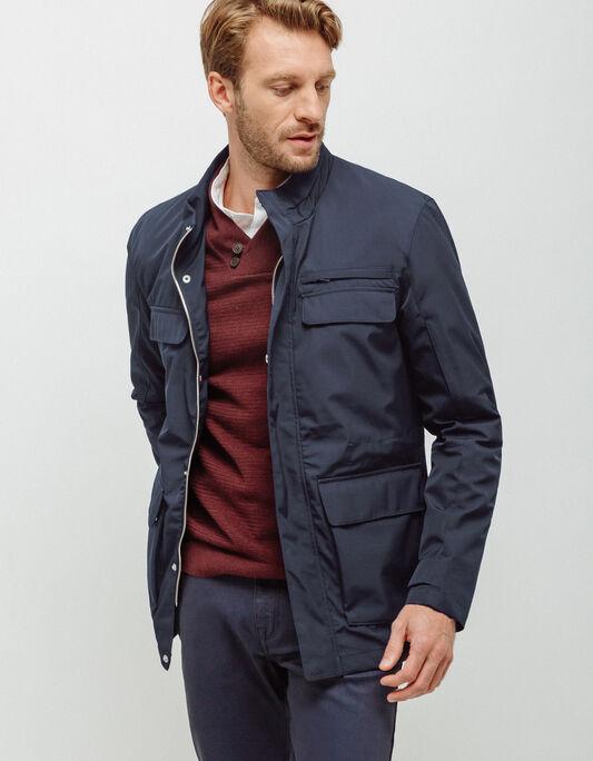 Parka homme standard poches poitrine
