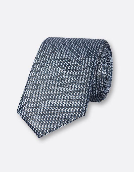 Cravate 6,5cm polyester imprimé