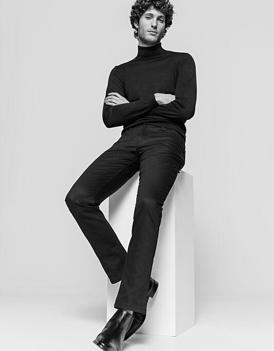 Pantalon homme 5 poches regular noir