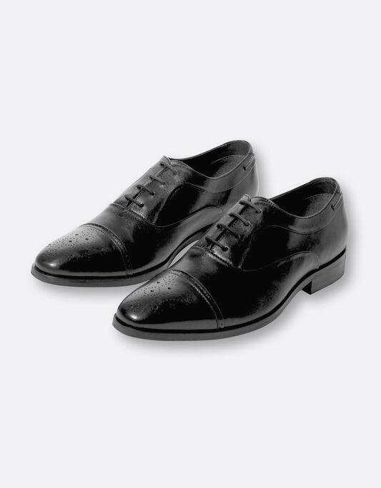 Chaussures richelieu homme en cuir