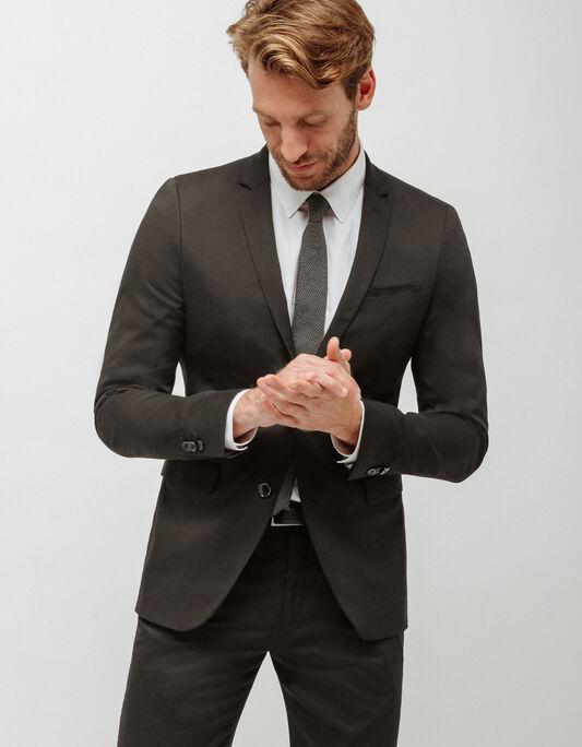 Veste costume homme slim poche poitrine