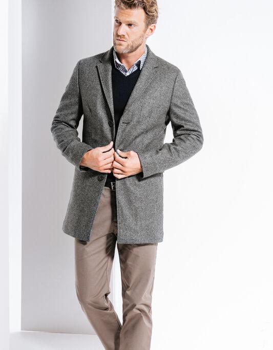Veste homme en laine