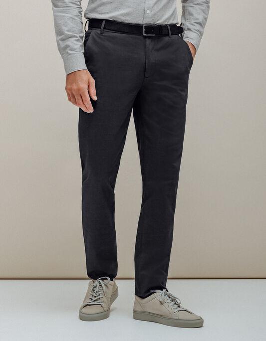 Pantalon homme slack slim poches italiennes