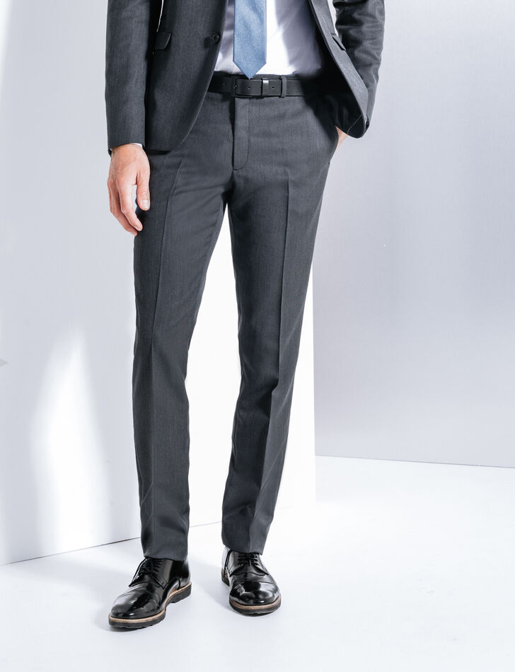 pantalon de costume homme gris brice. Black Bedroom Furniture Sets. Home Design Ideas