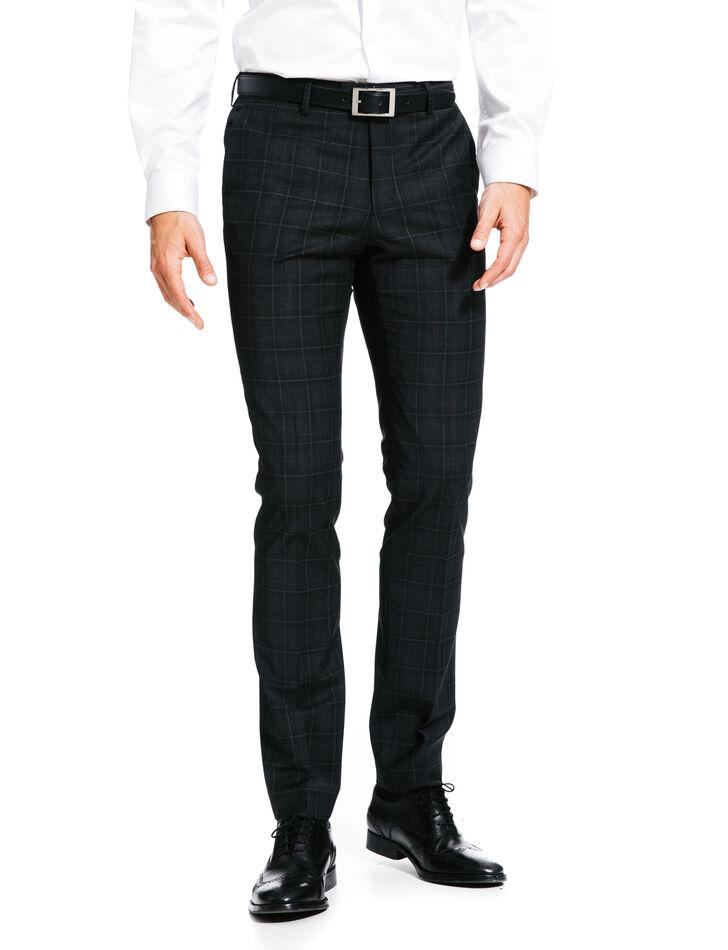 Pantalon de costume carreaux brice for Pantalon homme a carreaux