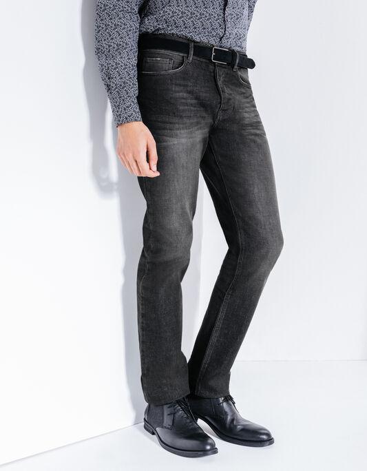 Jean noir droit
