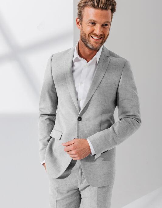 Veste de costume lin