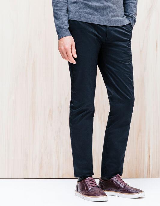Pantalon slim coton