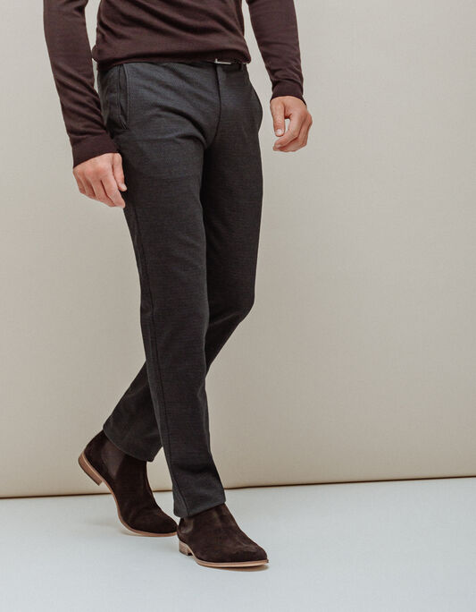 Pantalon chino homme regular coton majoritaire