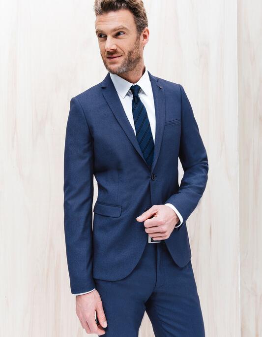 Veste de costume bleu vif