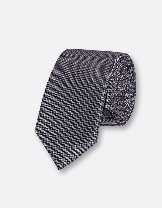 Cravate fantaisie en polyester