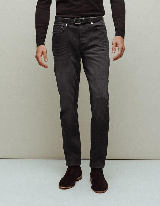Jeans homme slim délavé