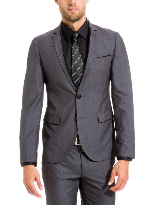 Veste de costume découpe col