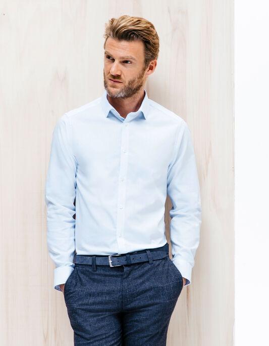 Chemise homme en coton  premium slim fit