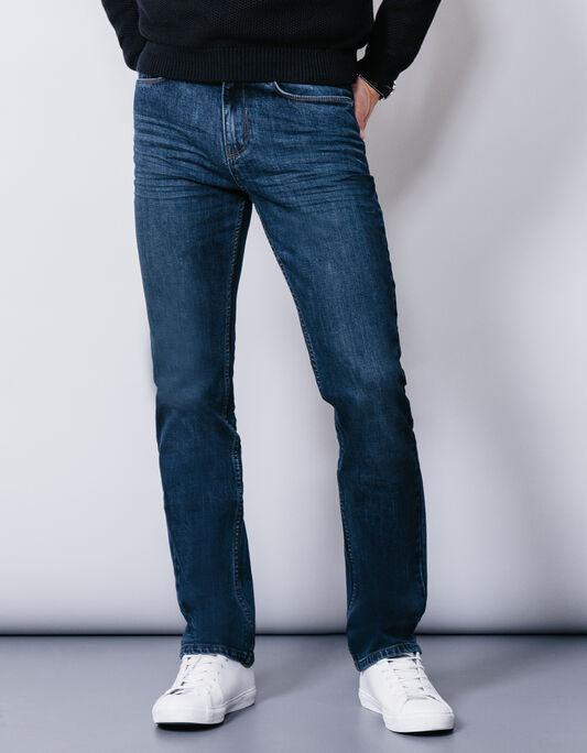 Jean stone coupe droite