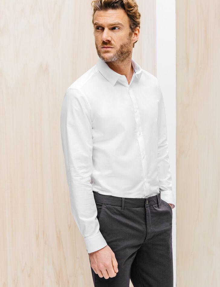 chemise homme en coton premium coupe droite brice. Black Bedroom Furniture Sets. Home Design Ideas