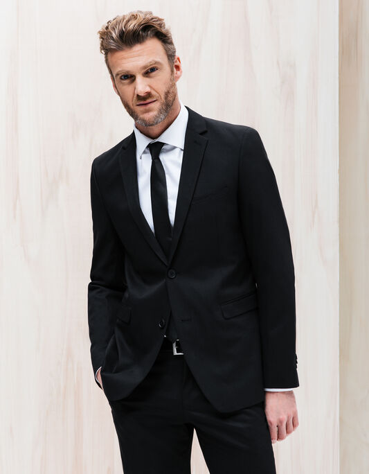 Veste de costume noire