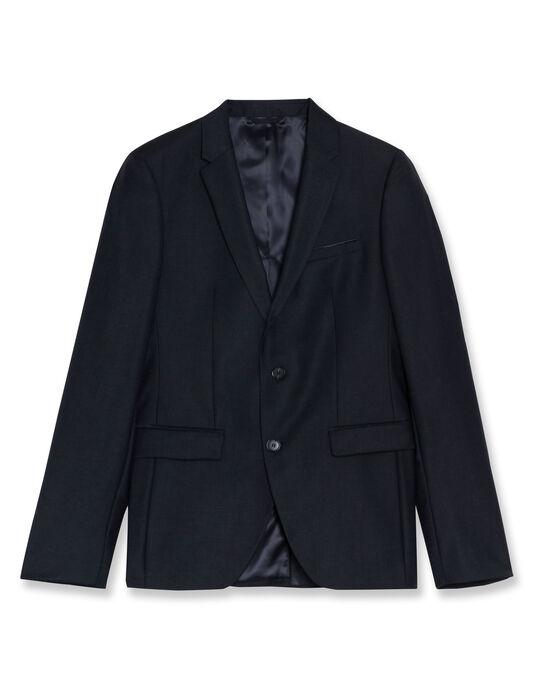Veste costume homme unie laine italienne