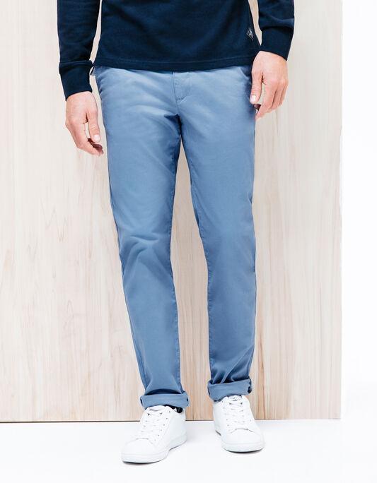 Pantalon chino slim coton