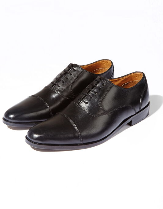 Chaussures ville en cuir noir