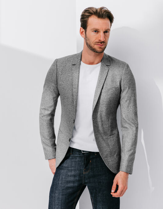 Veste costume homme col tailleur