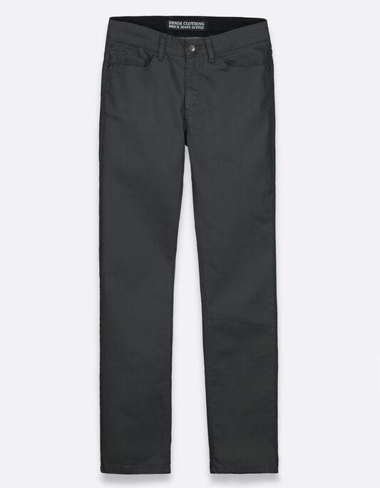 jean enduit droit