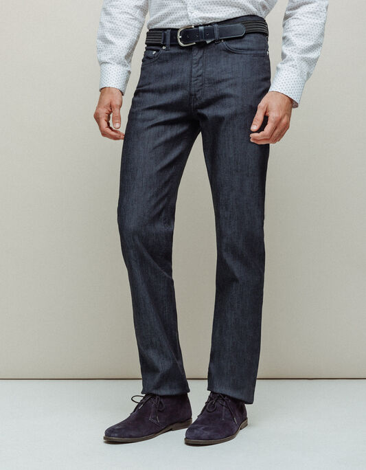 Jeans homme brut coupe regular